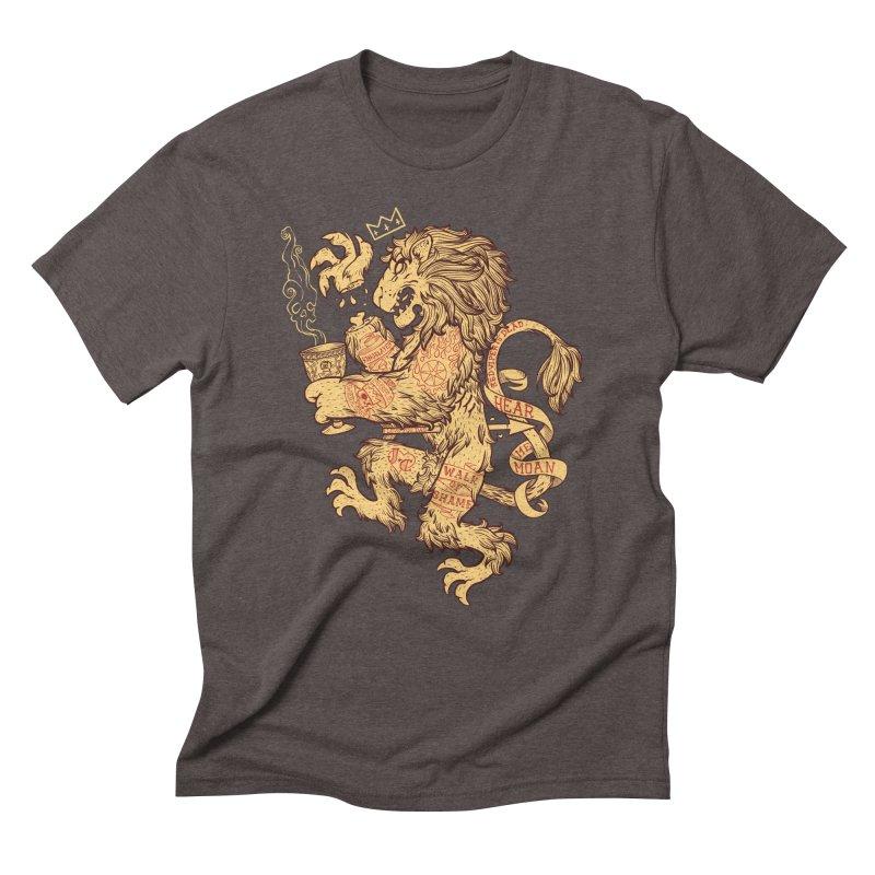 Lion Spoiler Crest Men's Triblend T-Shirt by spike00
