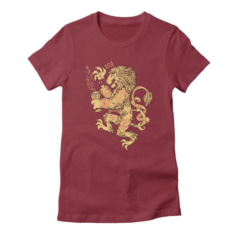 Lion Spoiler Crest Women's T-Shirt by spike00