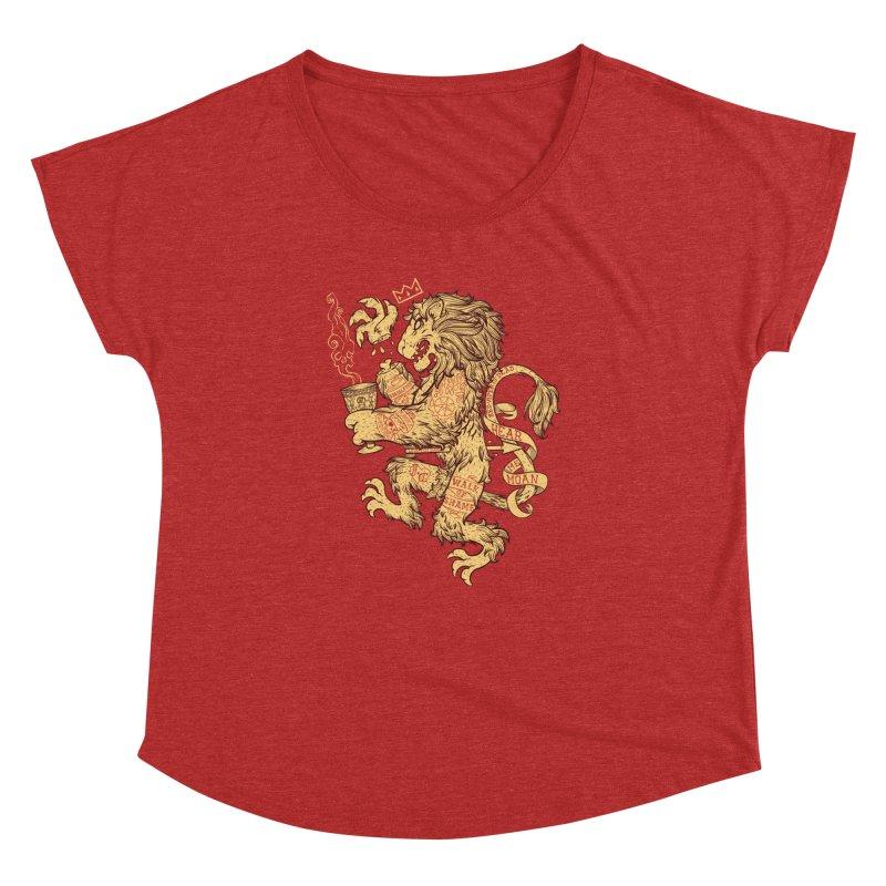 Lion Spoiler Crest Women's Dolman by spike00