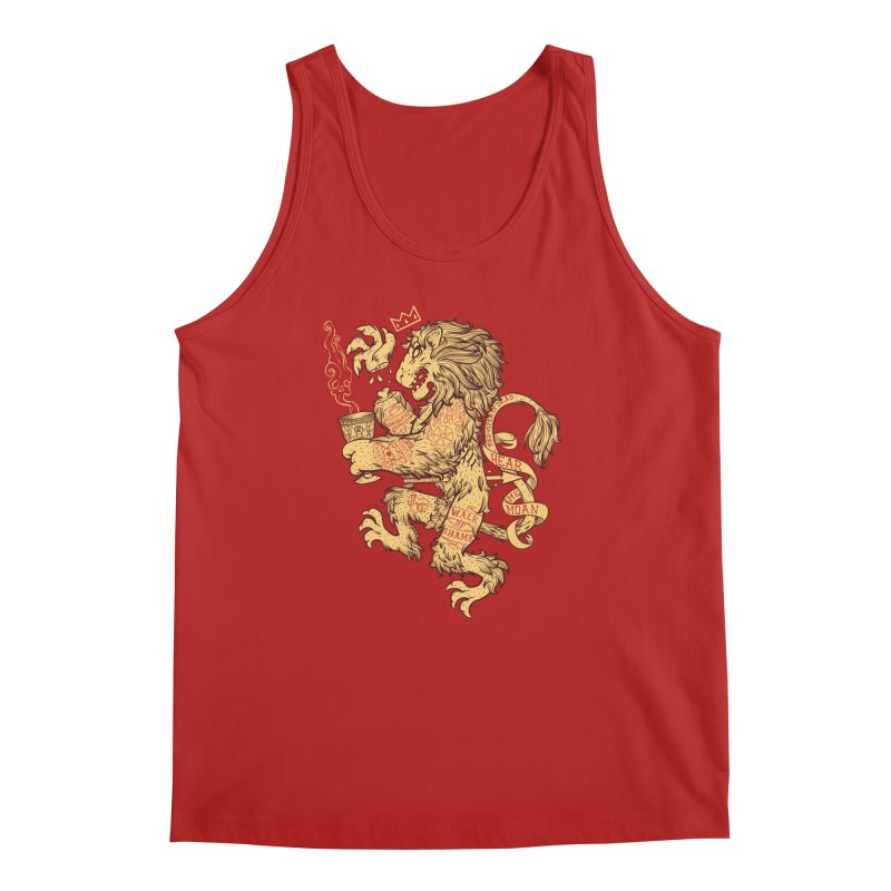 Lion Spoiler Crest Men's Tank by spike00