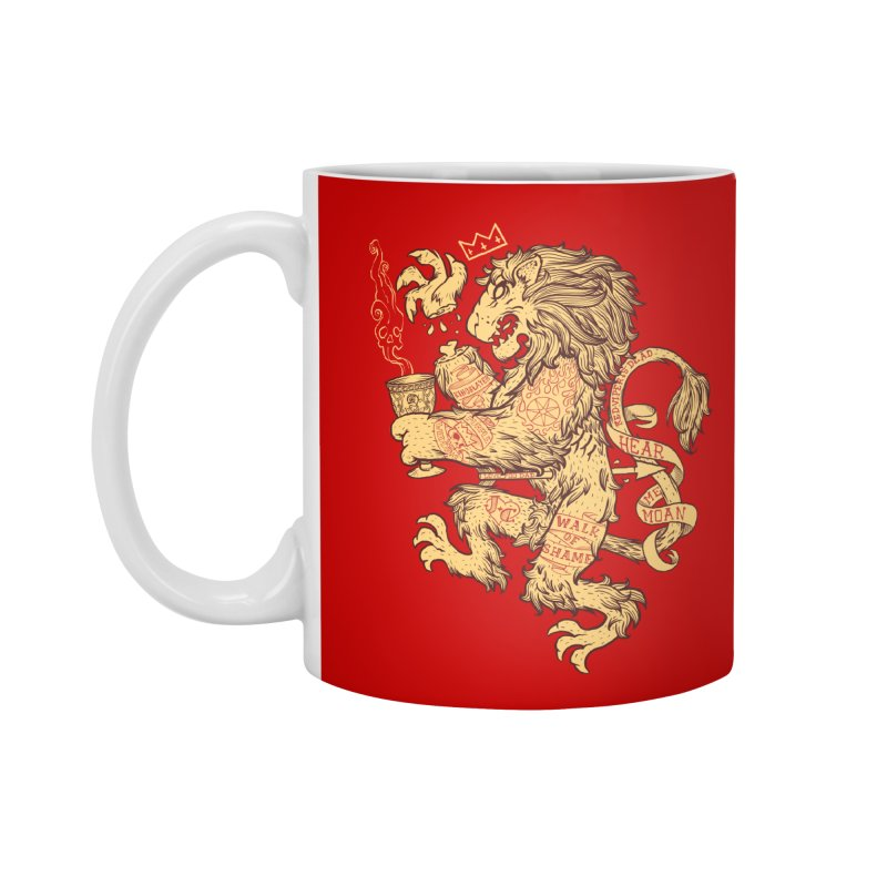 Lion Spoiler Crest Accessories Mug by spike00