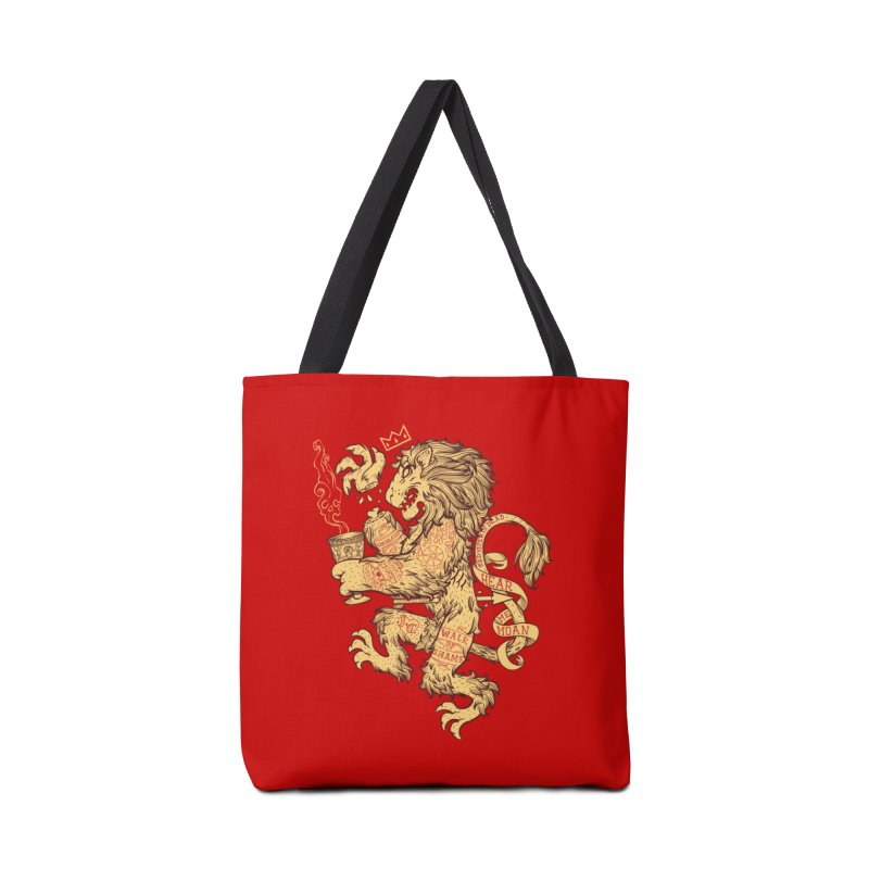 Lion Spoiler Crest Accessories Bag by spike00