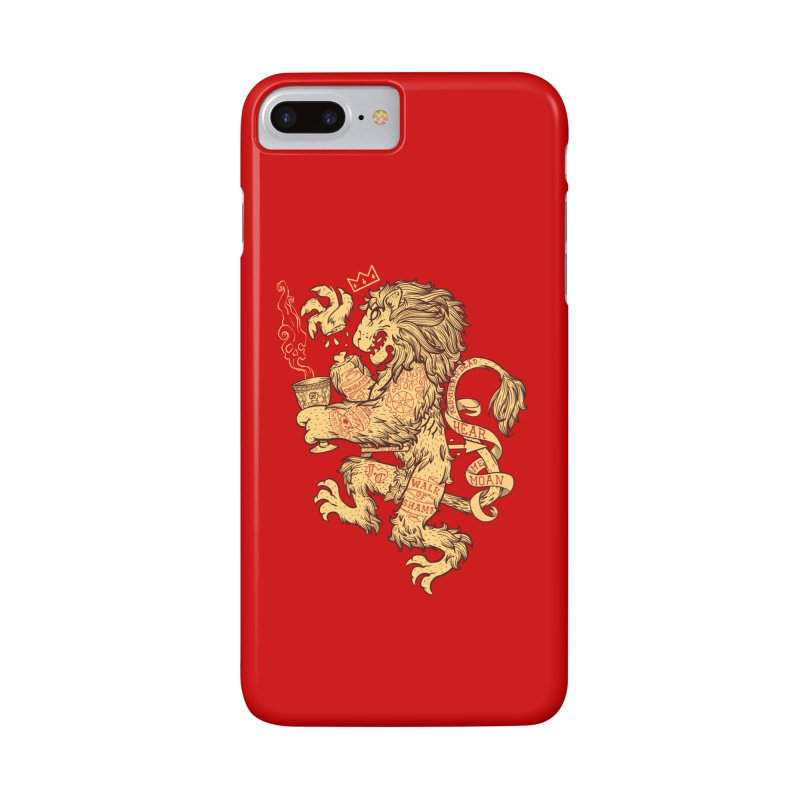 Lion Spoiler Crest Accessories Phone Case by spike00