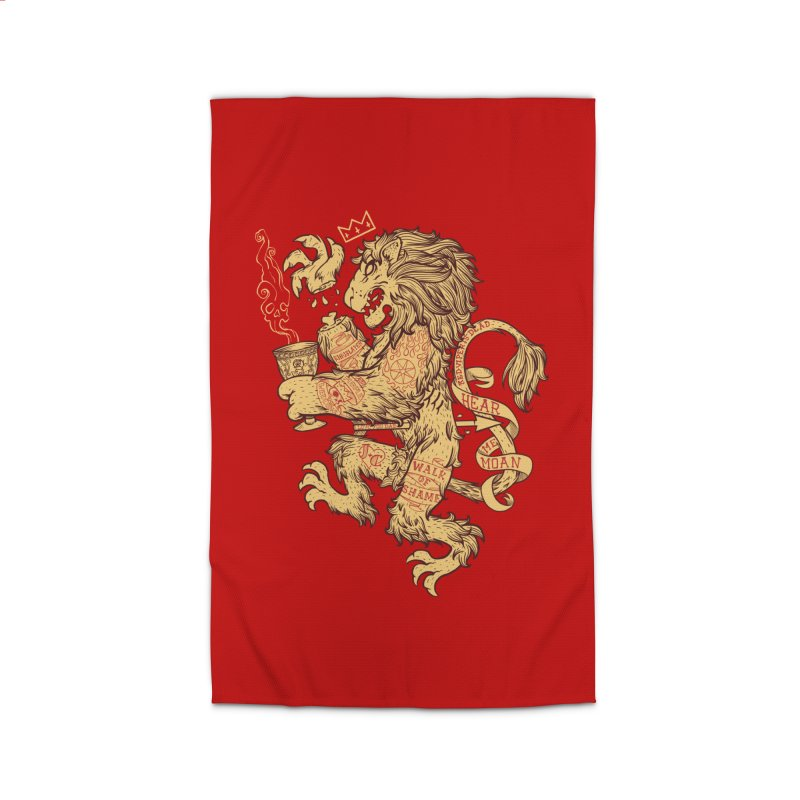Lion Spoiler Crest Home Rug by spike00