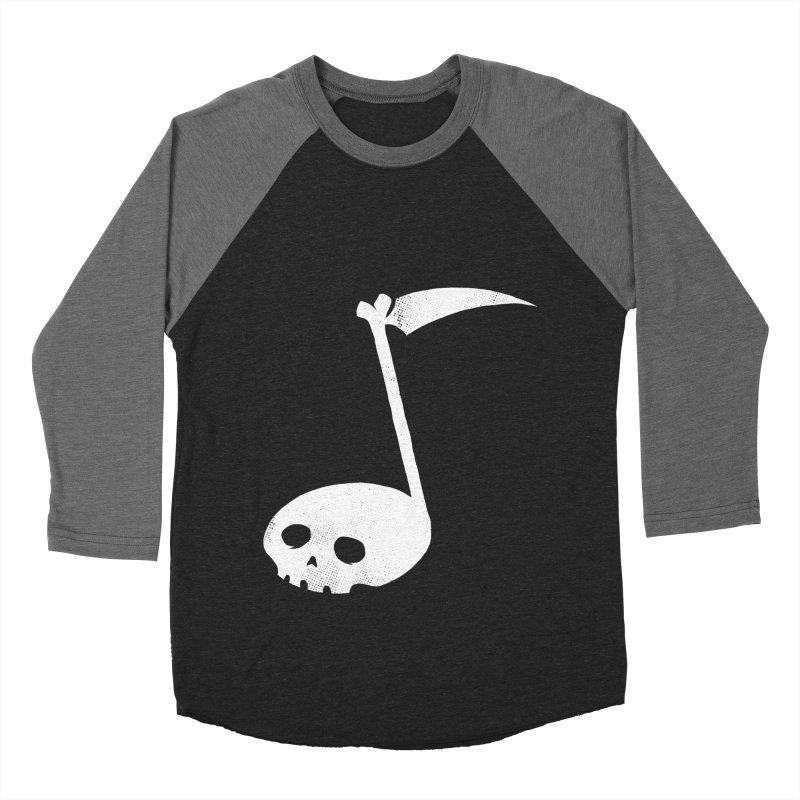 Death Note Men's Baseball Triblend Longsleeve T-Shirt by spike00