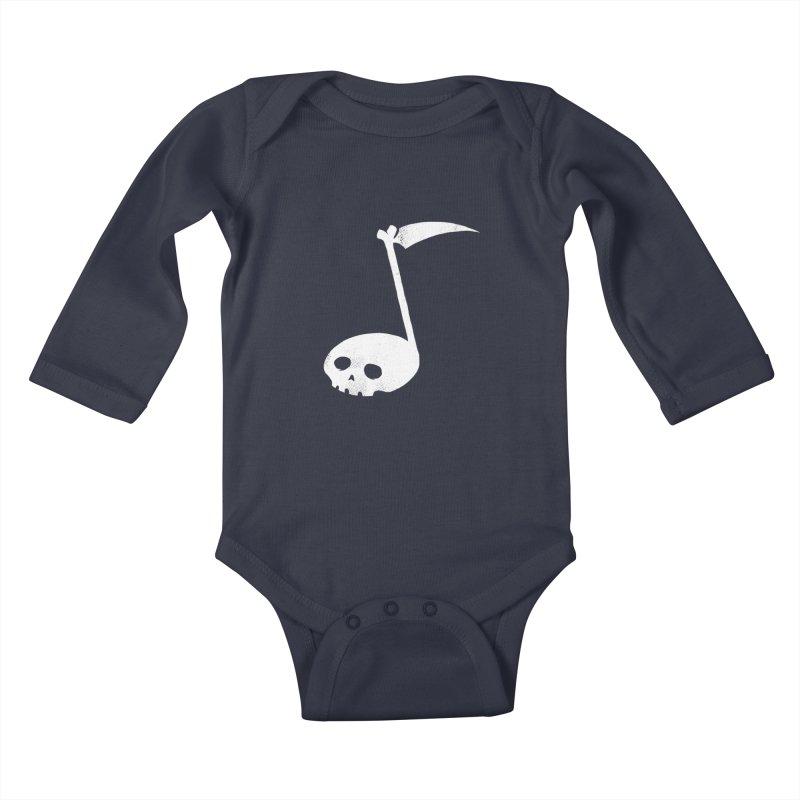 Death Note Kids Baby Longsleeve Bodysuit by spike00