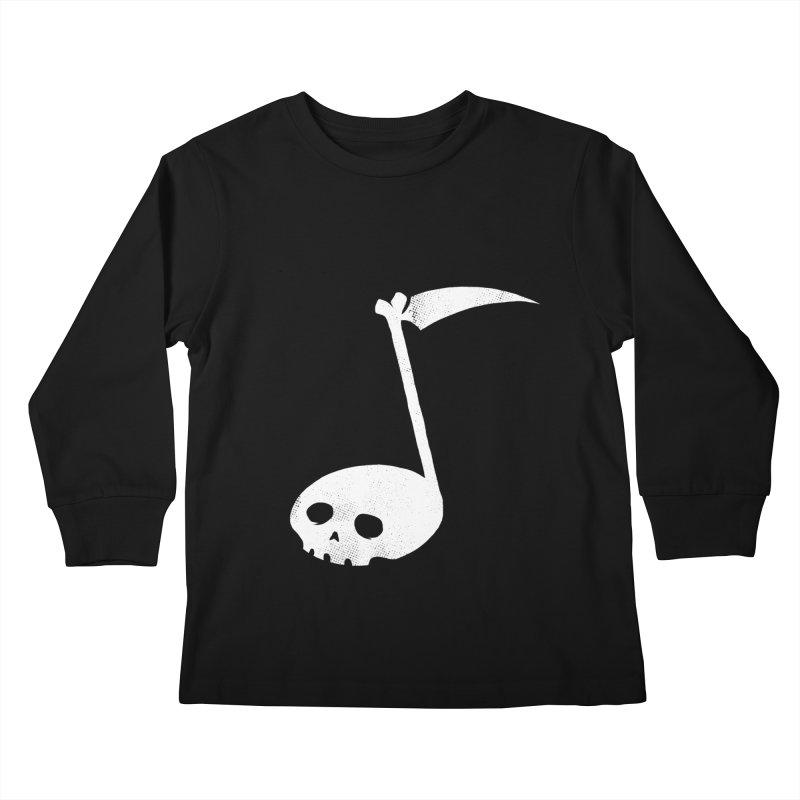 Death Note Kids Longsleeve T-Shirt by spike00