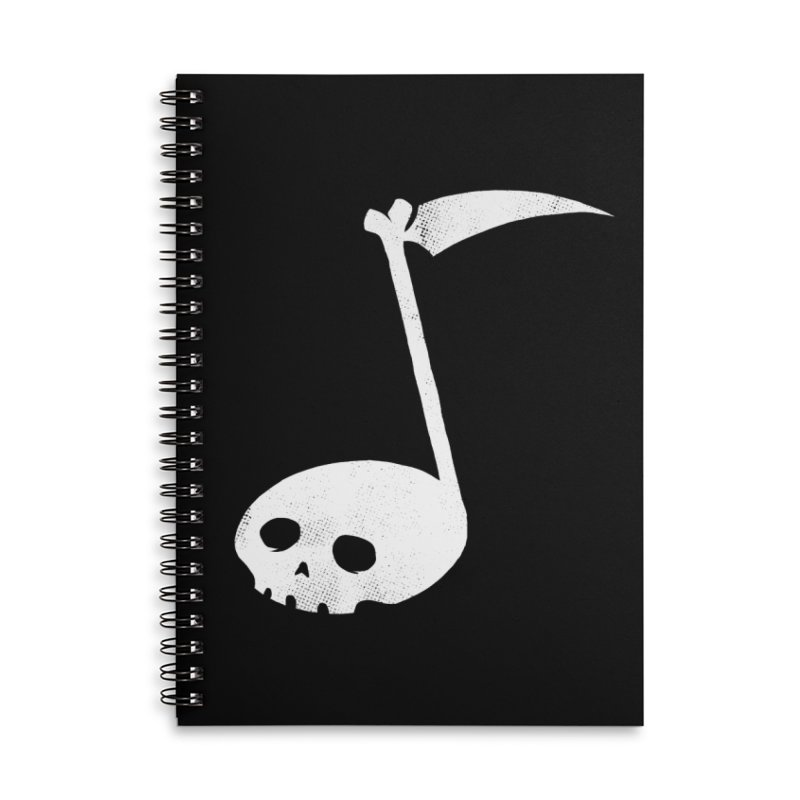 Death Note Accessories Lined Spiral Notebook by spike00