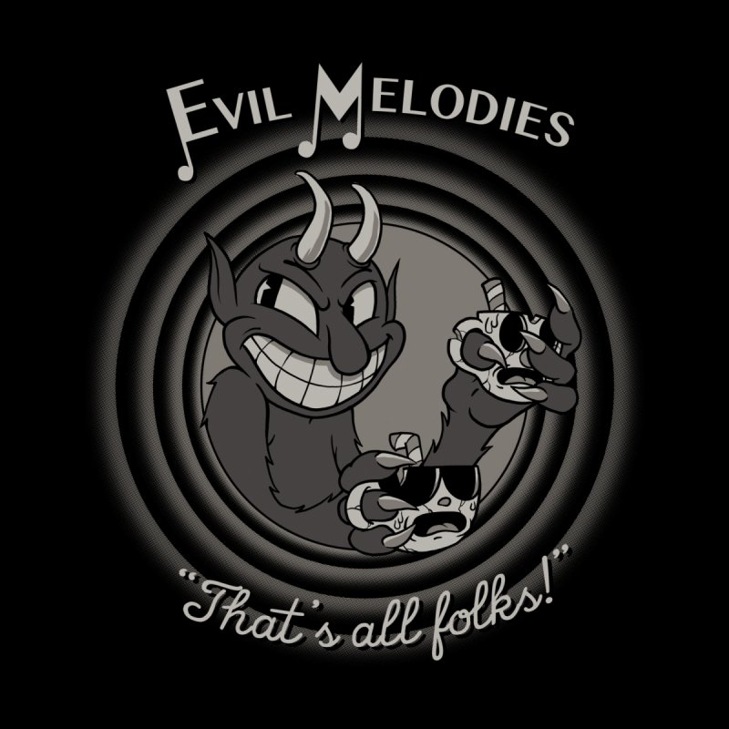 Evil Melodies Kids T-Shirt by spike00