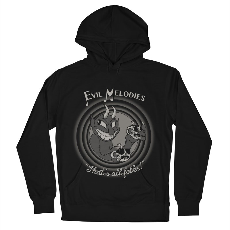 Evil Melodies Men's French Terry Pullover Hoody by spike00