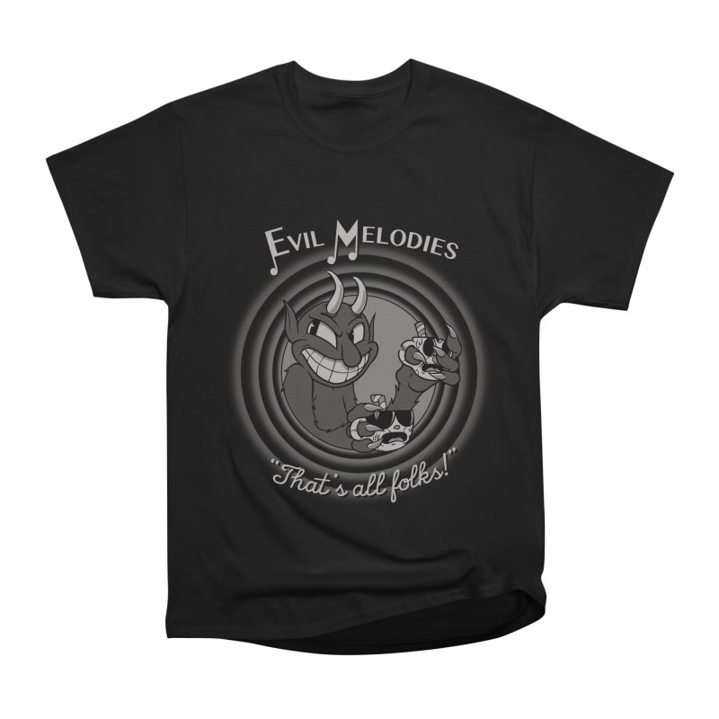 Evil Melodies Men's Classic T-Shirt by spike00