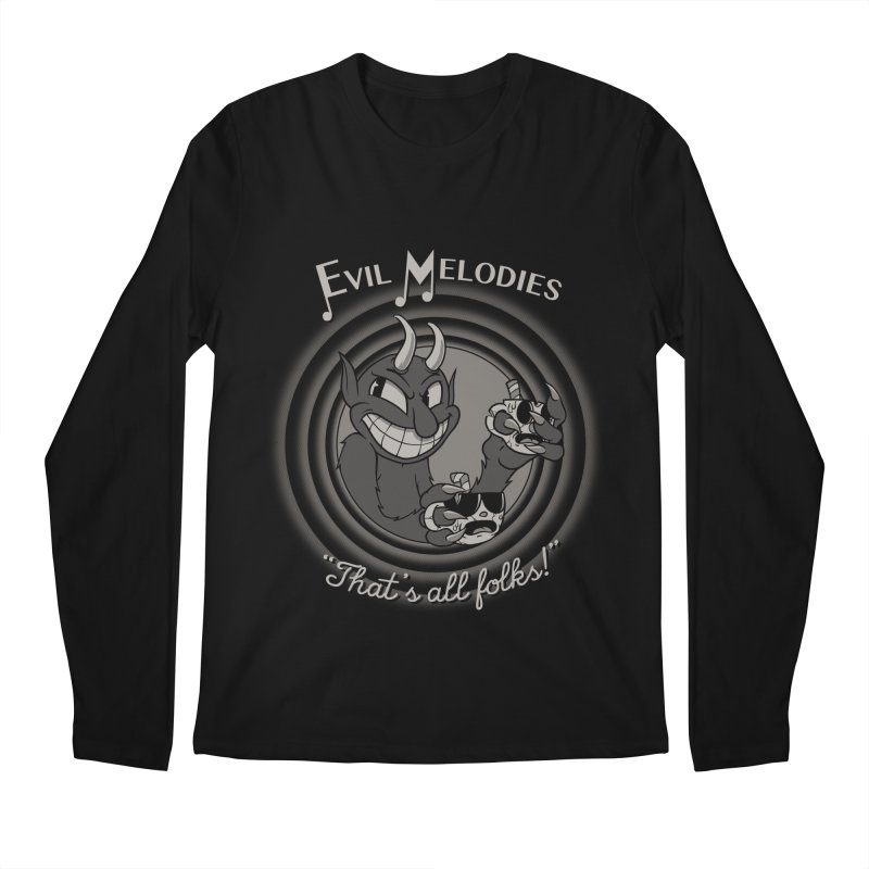 Evil Melodies Men's Regular Longsleeve T-Shirt by spike00