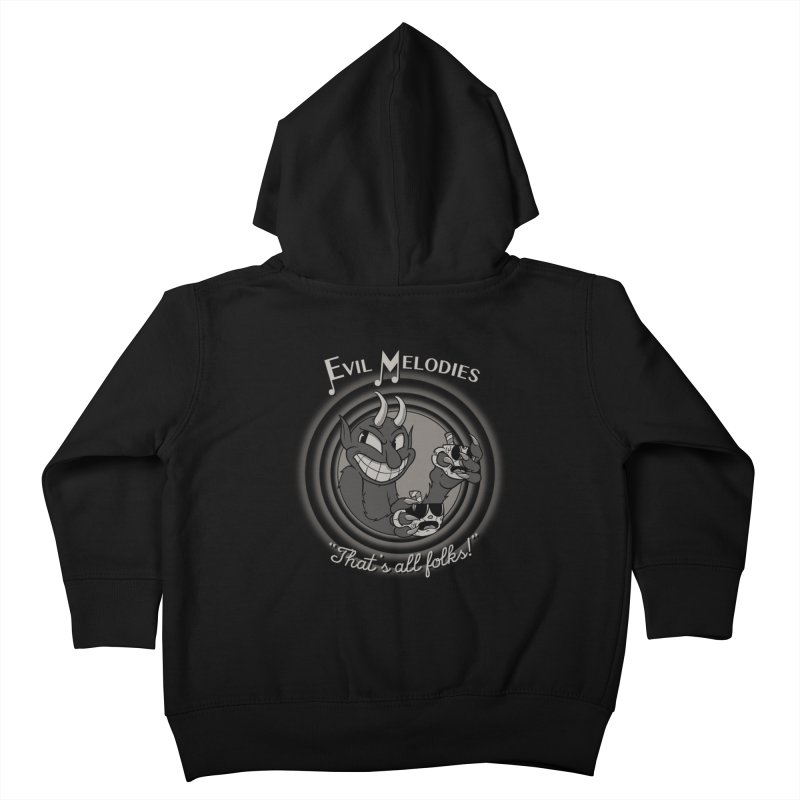 Evil Melodies Kids Toddler Zip-Up Hoody by spike00