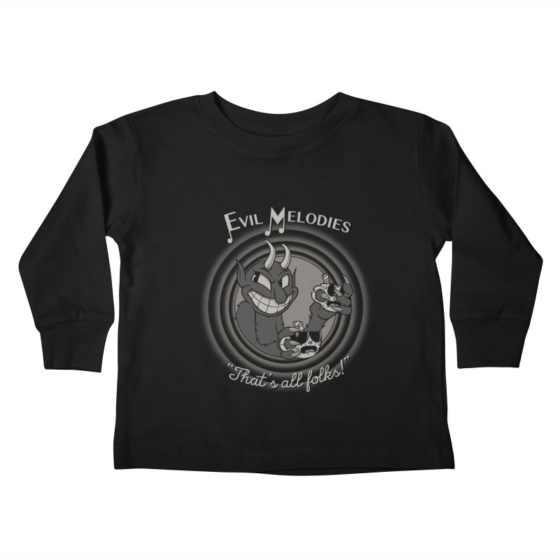 Evil Melodies Kids Toddler Longsleeve T-Shirt by spike00