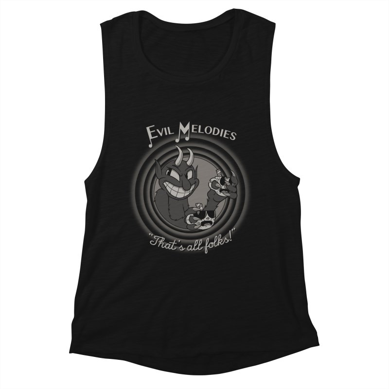 Evil Melodies Women's Muscle Tank by spike00
