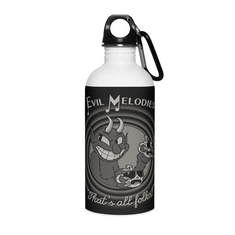 Evil Melodies Accessories Water Bottle by spike00