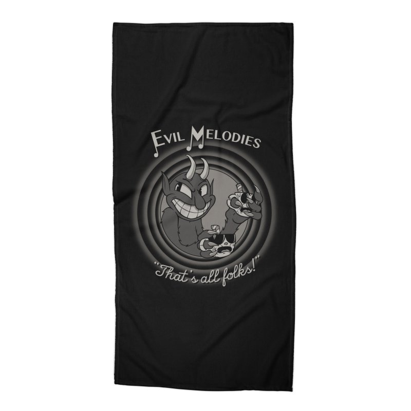 Evil Melodies Accessories Beach Towel by spike00