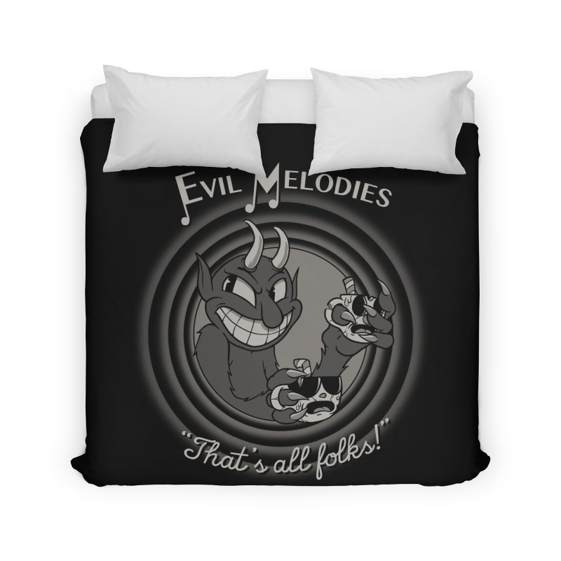 Evil Melodies Home Duvet by spike00