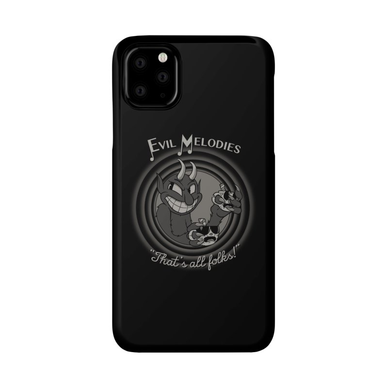 Evil Melodies Accessories Phone Case by spike00