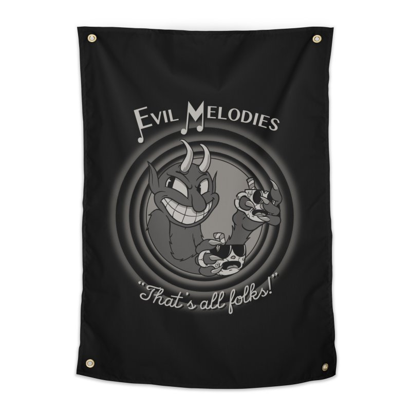 Evil Melodies Home Tapestry by spike00