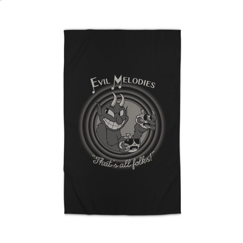 Evil Melodies Home Rug by spike00