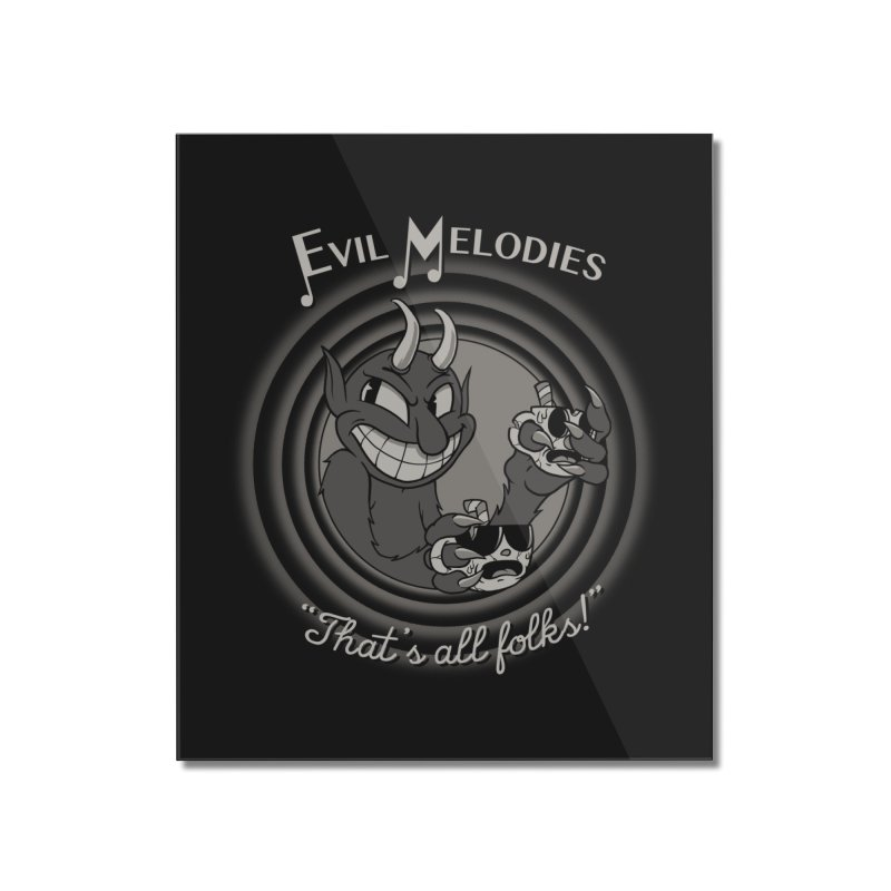 Evil Melodies Home Mounted Acrylic Print by spike00