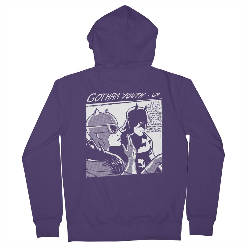 Gotham Youth Women's French Terry Zip-Up Hoody by spike00