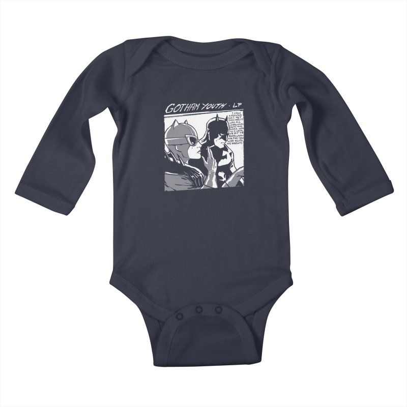 Gotham Youth Kids Baby Longsleeve Bodysuit by spike00