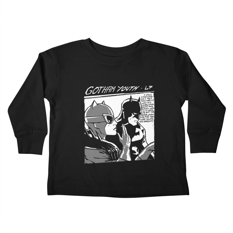Gotham Youth Kids Toddler Longsleeve T-Shirt by spike00