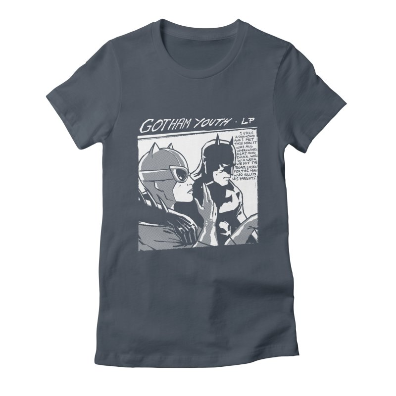 Gotham Youth Women's T-Shirt by spike00