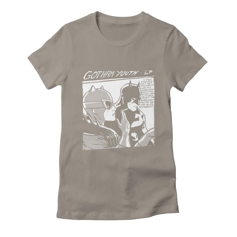 Gotham Youth Women's Fitted T-Shirt by spike00