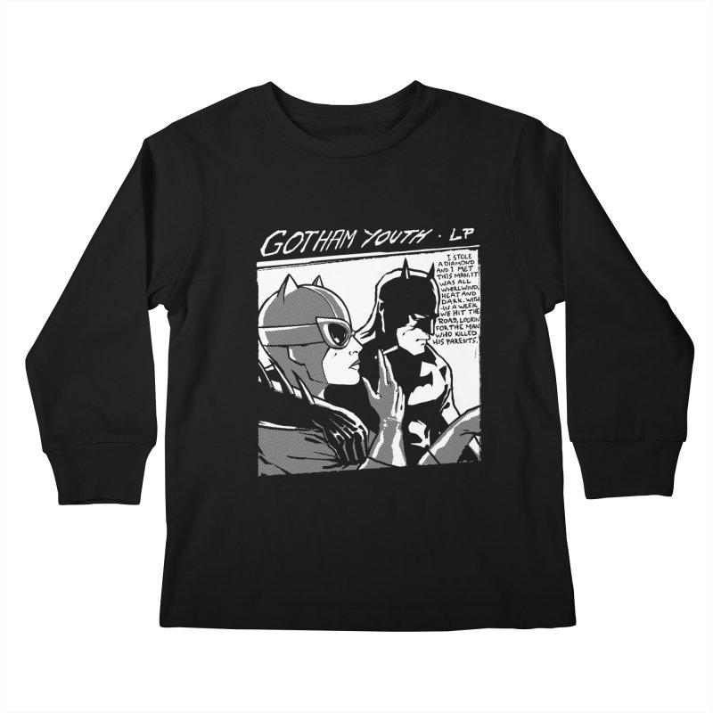 Gotham Youth Kids Longsleeve T-Shirt by spike00