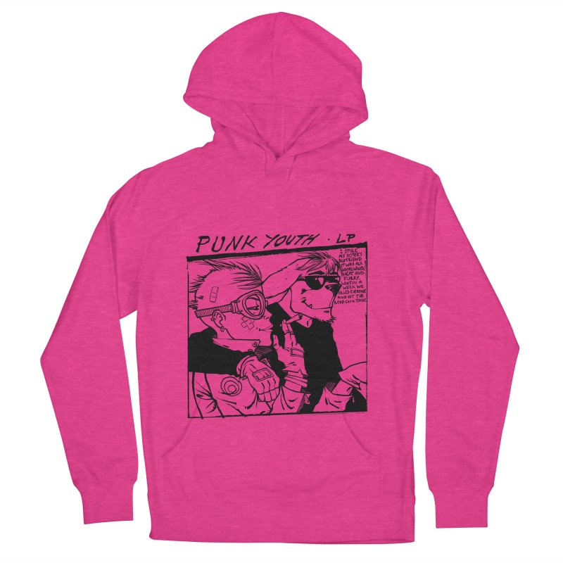 Punk Youth Men's French Terry Pullover Hoody by spike00