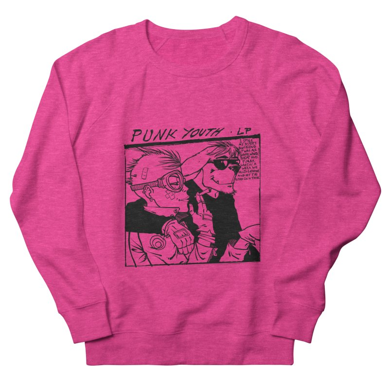 Punk Youth Women's French Terry Sweatshirt by spike00