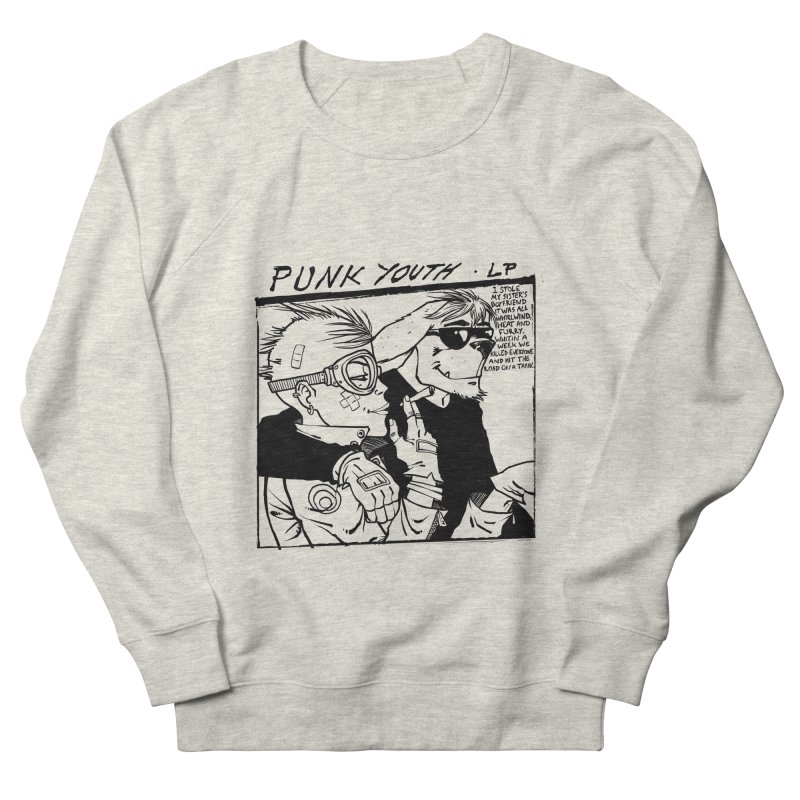 Punk Youth Men's French Terry Sweatshirt by spike00