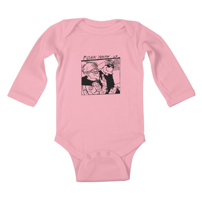 Punk Youth Kids Baby Longsleeve Bodysuit by spike00