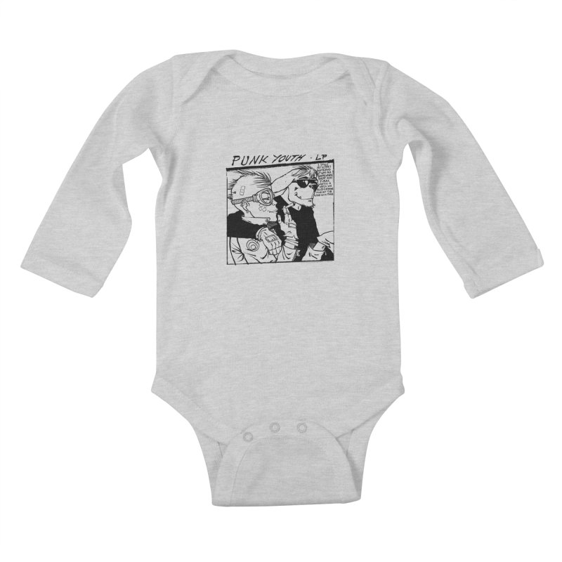 Punk Youth Kids Baby Longsleeve Bodysuit by spike00