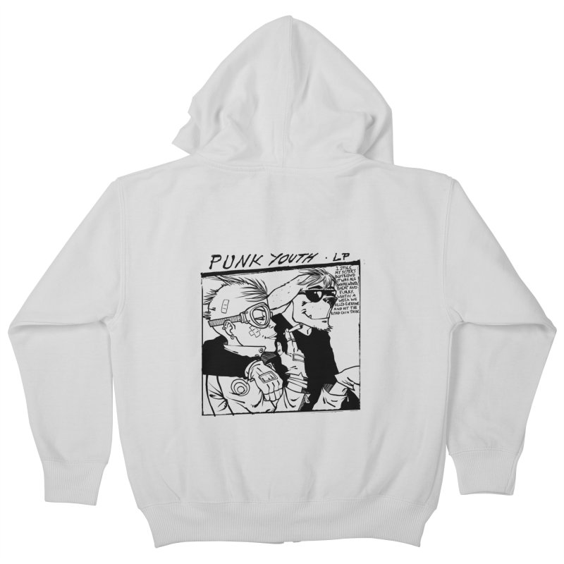 Punk Youth Kids Zip-Up Hoody by spike00