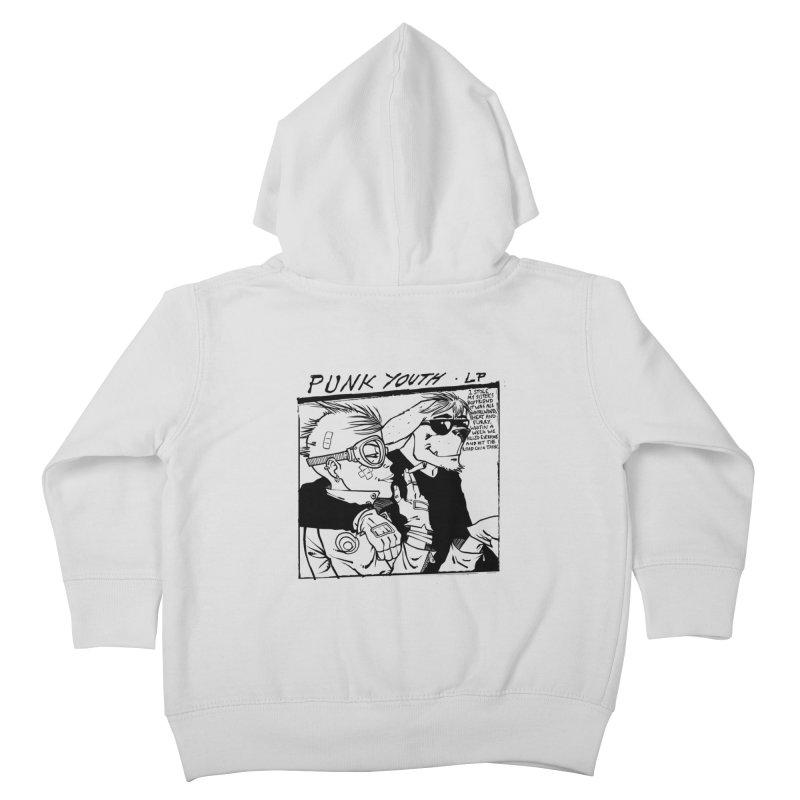 Punk Youth Kids Toddler Zip-Up Hoody by spike00
