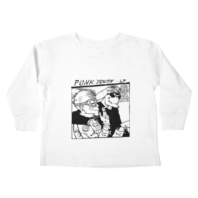 Punk Youth Kids Toddler Longsleeve T-Shirt by spike00