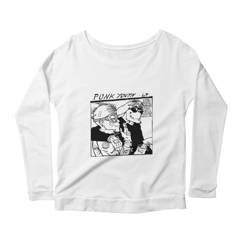 Punk Youth Women's Scoop Neck Longsleeve T-Shirt by spike00