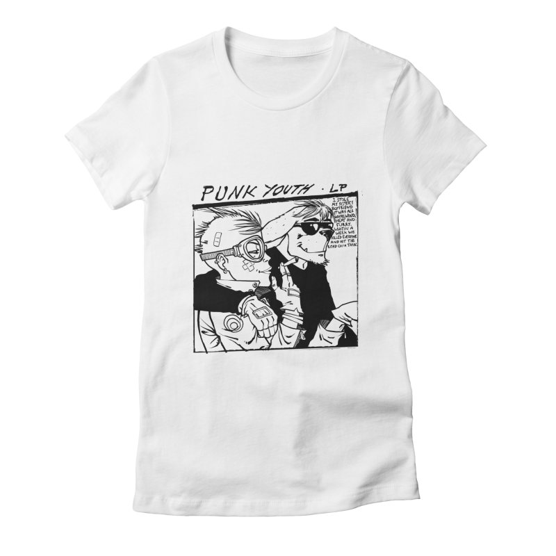 Punk Youth Women's Fitted T-Shirt by spike00