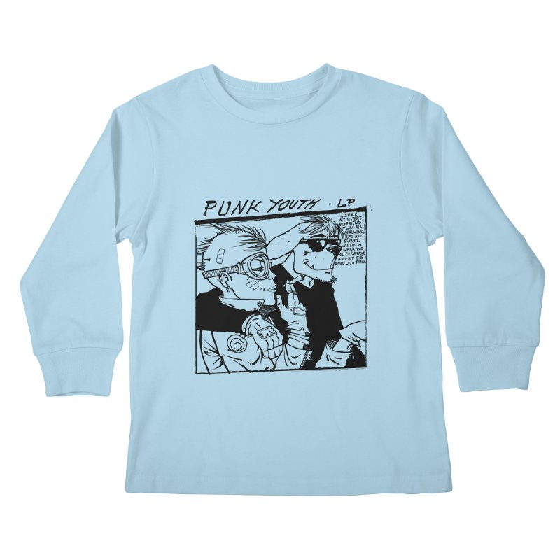 Punk Youth Kids Longsleeve T-Shirt by spike00