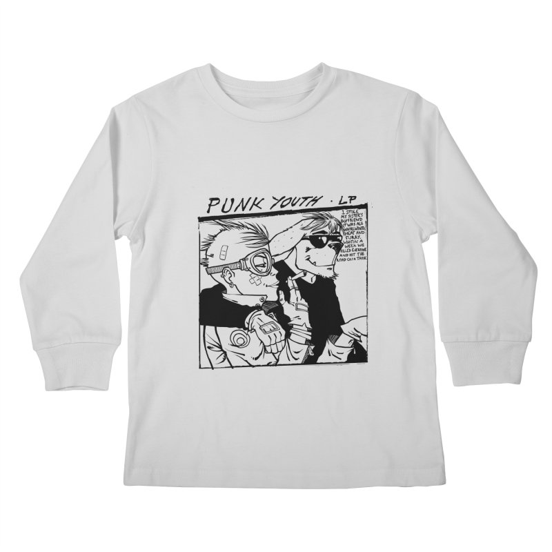 Punk Youth Kids Longsleeve T-Shirt by spike00