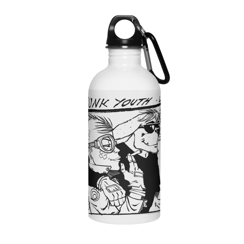 Punk Youth Accessories Water Bottle by spike00