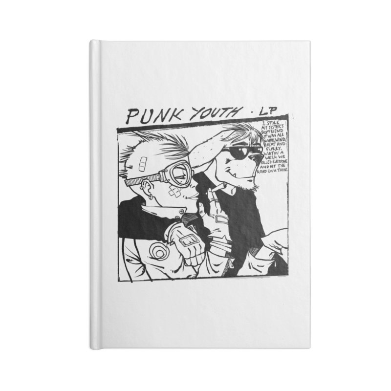 Punk Youth Accessories Blank Journal Notebook by spike00