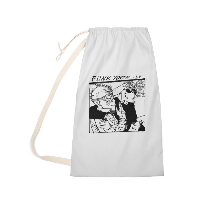 Punk Youth Accessories Laundry Bag Bag by spike00