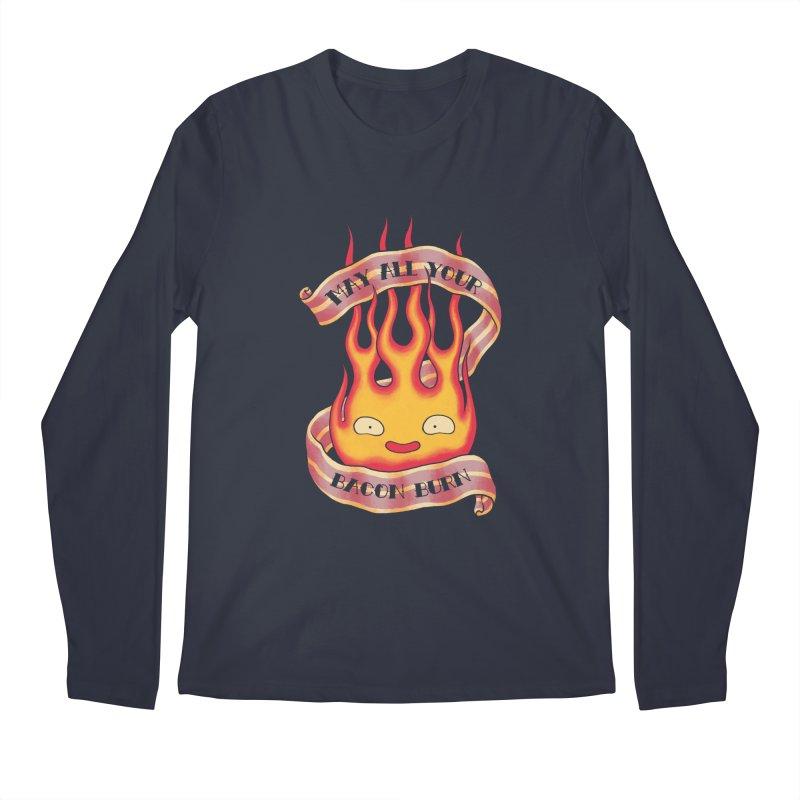 Bacon Burner Men's Longsleeve T-Shirt by spike00
