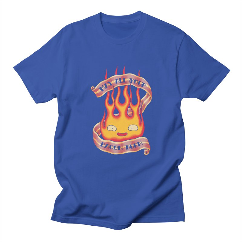 Bacon Burner Men's T-Shirt by spike00