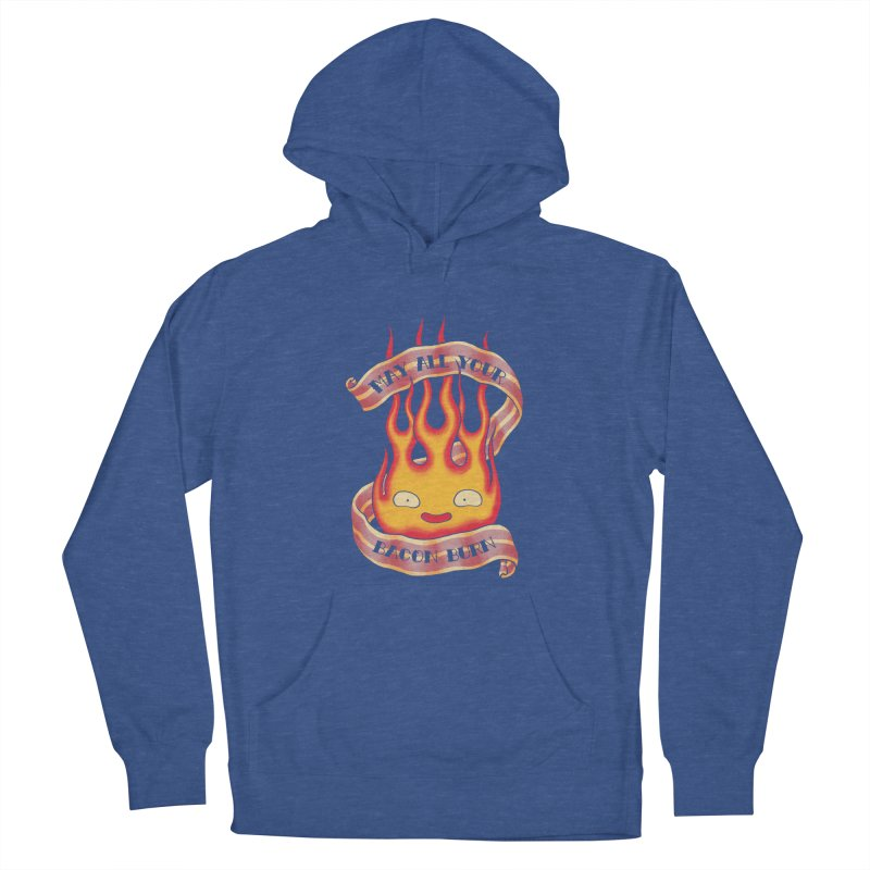 Bacon Burner Men's French Terry Pullover Hoody by spike00